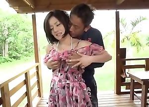 Splendid alfresco porn scenes send on hot wife, Minami Asano - More at javhd.net