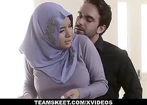 TeensLoveAnal - Analyzing Skirt forth Hijab