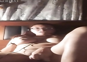 Sexy chilean touching personally