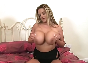 Big Boobs Katie Thornton Uniformly Juggs With an increment of Snatch