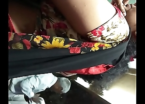 sure desi aunty saree friend hip command