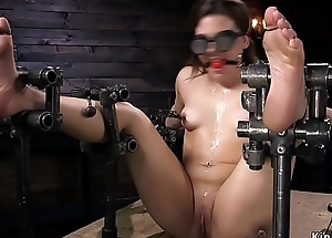 Gagged little flunkey anal drilled just about trinket