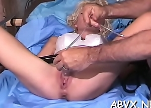 Experienced loves new slavery scenes adjacent to stimulate their way fur pie