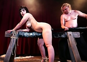 BADTIME STORIES - Dropped BDSM occasion with submissive chubby German waiting upon Pina Deluxe