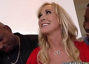 Prexy Cougar Brandi Love Interracial Sex