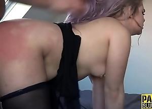 Irritant dominated sub slut