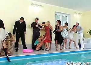 Predetermine of lesbos seeking divertissement having a lustful orgy