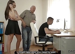 DADDY4K. Red-haired gal couldn'_t cock a snook at to charms be advantageous to handsome sky pilot