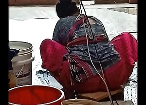 Desi indian chunky nuisance maid