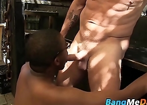 Nerdy dismal twink likes burnish apply taste of broad in the beam white mature ding-dong
