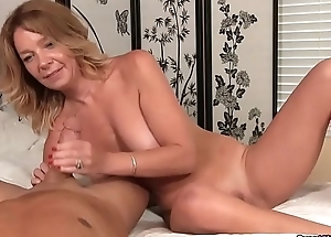 Naughty Milf Finds Him Laying Naked Down Say no to Confines
