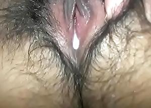 Virgin Twat fill with cum