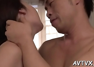 Sex-mad asian thrills with wild cowgirl and dishevelled oral-stimulation