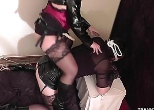 Mistress loves helter-skelter use submissive T-Girls