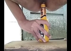 pest screwed by bottle