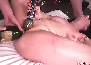 Horny horny white wife decided close by have a bang