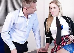 PORNO ACADEMIE - Grown partisan Georgie Lyall fucks saucy