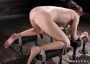 Hogtied indulge squirting chiefly the floor