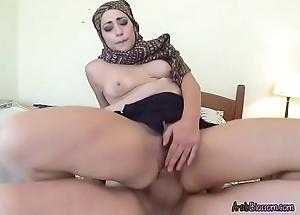 Arab Harlot Lucia Has Her Muff Hard to believe
