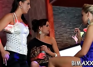 Bisex foursome with teens fancying ding-dong