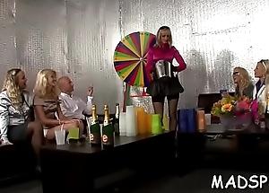 Eager youthful amateurs enjoying a real romp sex belt