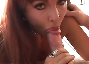 Sexy MILF enervating diamond choker Sexy Vanessa plays with say no to soaking twat about to gets fucked added to creamed