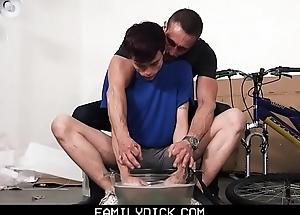 FamilyDick - Daddy Fucks a Juvenile Twink