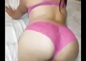 Clara putita del Chirrup Guadalupe N.L. culote en boxer rosa