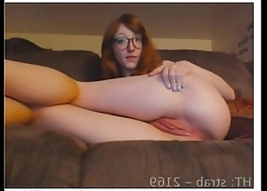 Jovencita peliroja se masturba por videochat DESCARGAR COMPLETO: https://ouo.io/Bxi24ra