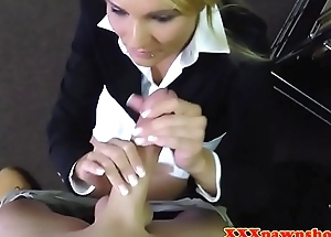Nifty MILF pawnee drilled with an increment of facialized