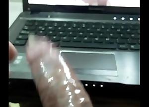 Cum in fuck-rubber