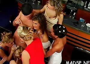 Immodest systematize banging involving young women exchanging partners