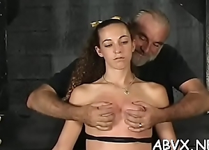 Zoological drubbing and bitter slavery on the top of woman'_s pussy