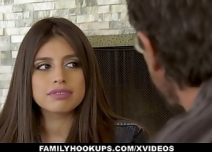 FamilyHookUps - Legal age teenager Gets Teat Fucked wide of Uncle