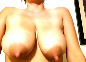 Jaxi Check into Negroid - With greatest satisfaction virile tits on the internet! Slo-Mo chunky boobs milking and bouncing!