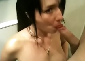 Homemade Sloppytop thither Cum Surprise