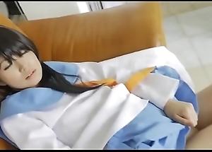 Japanese cosplay look forward HD flick http://zo.ee/4yjKM
